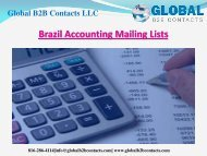 Brazil Accounting Mailing Lists