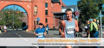 Was läuft im Bundestag, Herr Steffel ? - CDU Reinickendorf