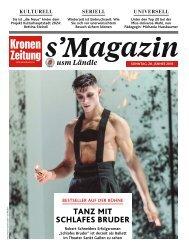 s'Magazin usm Ländle, 28. Jänner 2018