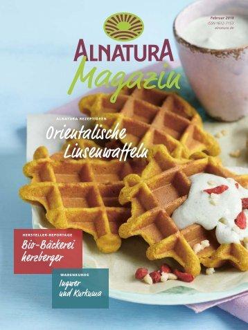 Alnatura Magazin Februar 2018