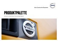 Produktpalette Volvo Construction Equipment