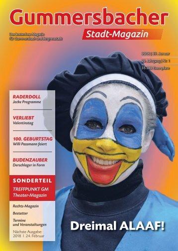 Gummersbacher Stadtmagazin Januar 2018