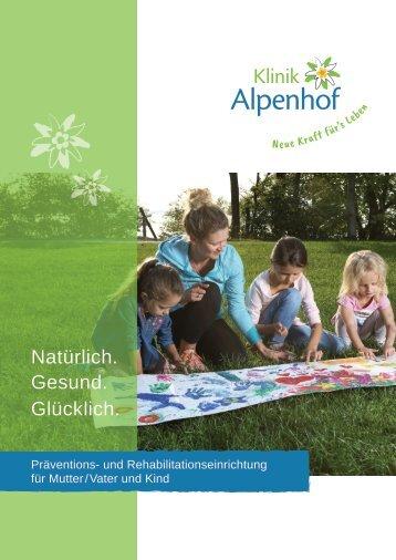 Klinikprospekt Klinik Alpenhof