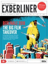 EXBERLINER Issue 168, February 2018