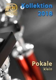 Sportpreise 2018 - Pokale klein - 3W-Media Marketing GmbH
