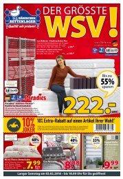 Dänisches Bettenlager KW05