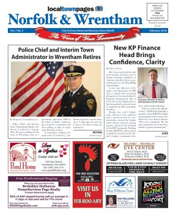 Norfolk & Wrentham February 2018
