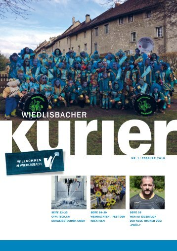 Wiedlisbacher Kurier 1/2018