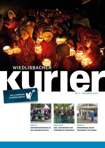 Wiedlisbacher Kurier 4/2014