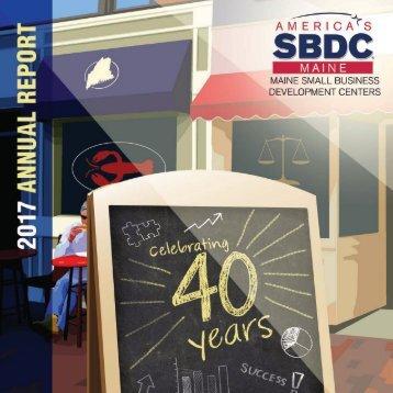 2017 Maine SBDC Annual Report