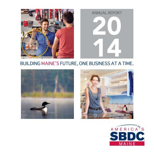 2014 Maine SBDC Annual Report
