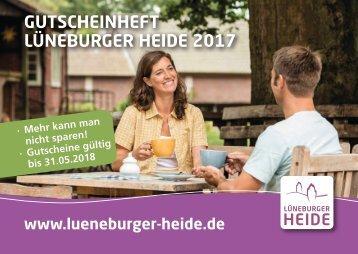 Gutscheinheft Lüneburger Heide 2017