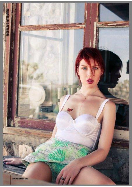 """Polina Huf Magazine's Interview"""