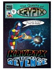 Krypyx comic book cover page