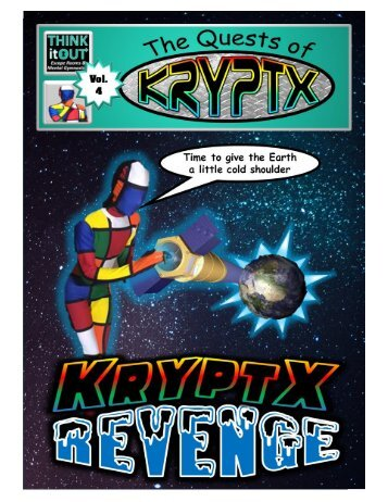 Krypyx comic book cover page