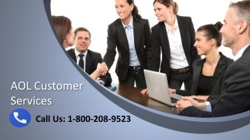 AOL Customer Service Number 1-800-208-9523 For Help