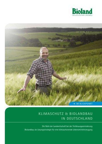 Klimaschutz & BiolandBau in deutschland