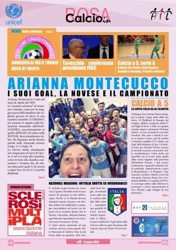 Magazine Calcioinrosa N°06