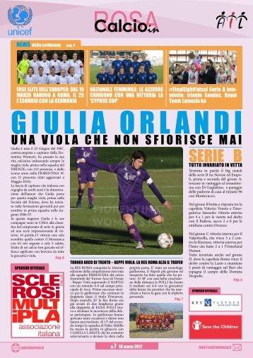 Magazine CalcioinRosa N°7