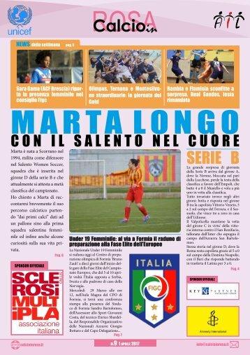 Magazine CalcioinRosa N°09