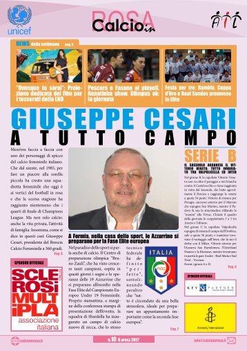 Magazine Calcioinrosa N°10