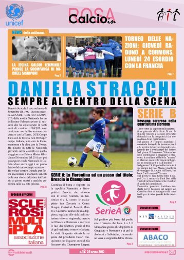 Magazine Calcioinrosa N°12