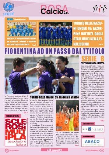 Magazine CalcioinRosa N°13