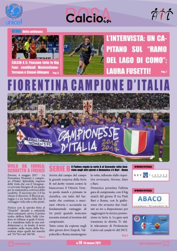 Magazine CalcioinRosa N°14