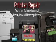 Printer Repair Service +1-800-610-6962