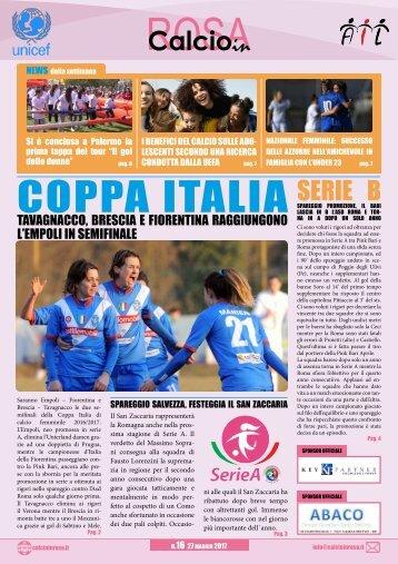 Magazine CalcioinRosa N°16