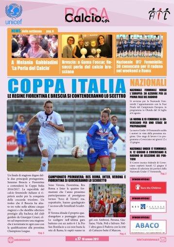 Magazine CalcioinRosa N°17