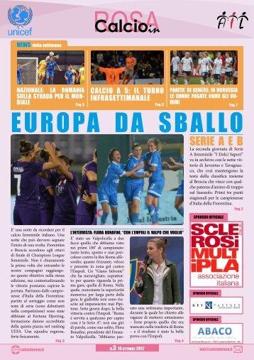 Calcioinrosa Magazine n.3 stagione 2017 18