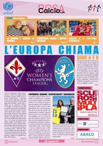 Calcioinrosa Magazine n.5 17 18