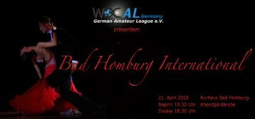Flyer Bad Homburg International 2018