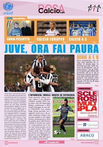 Calcioinrosa Magazine n.10 2017 18