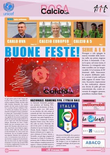 Calcioinrosa Magazine n.12 stagione 2017 18