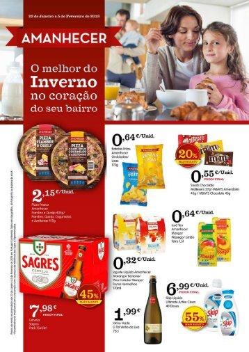 Folheto Amanhecer | Viva Aqui Supermercados de 23 Janeiro a 25 Fevereiro
