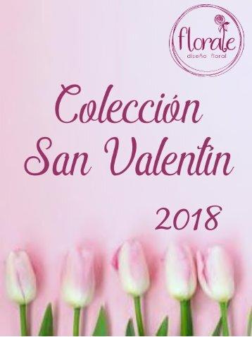 catalogo florale san valentin 2018