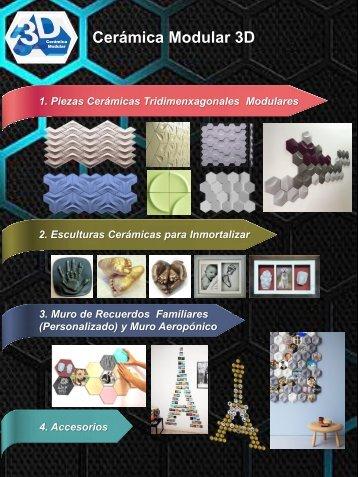 Catalogo Cerámica Modular 3D (Q1 2018)