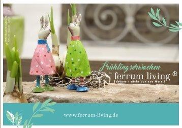 Ferrum Living Frühlingserwachen 2018