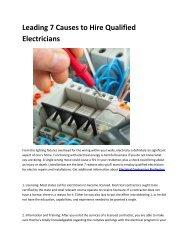 5 Electrical Contractors Burlington