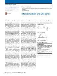 02 Editorial Intensivmedizin und Ökonomie