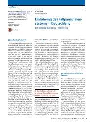 03 Einführung des Fallpauschalensystems in Deutschland