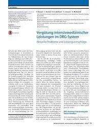 04 Vergütung intensivmedizinischer Leistungen im DRG-System