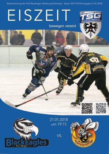 TSG Black Eagels vs. Zweibrücken Hornets 21012018