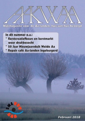 Wijkblad Aakwaa februari 2018