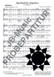 Alpenländisches Magnificat (für Männerchor TTB)