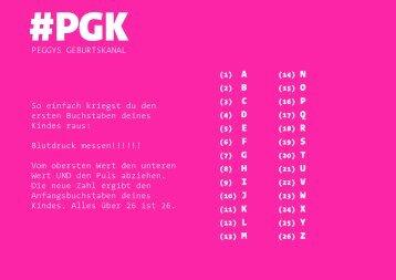 #PGK: Wie heißt Dein Baby?