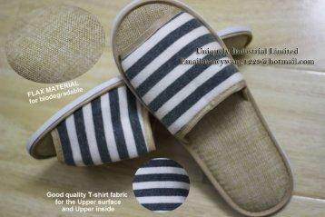 New ECO-friendly slipper