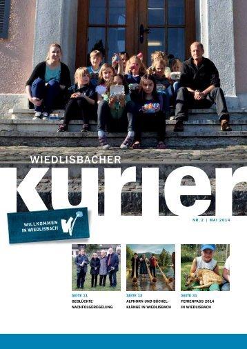 Wiedlisbacher Kurier 2/2014